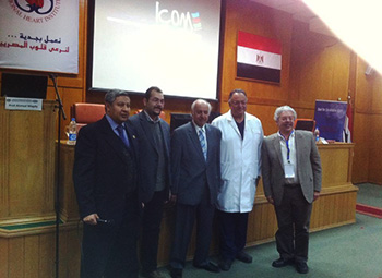 Nasser insitute and National Heart institute